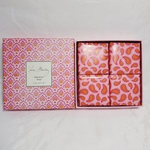 Vera Bradley 4 piece Macaroon Rose Soap Gift Set